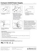 SloanLED 40W 24VDC - ръководство за инсталация - pdf снимка
