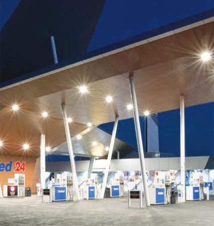 SloanLED Modus Fuel Canopies - осветително тяло и захранване