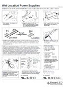 SloanLED Power Supplies Install guide PDF pic