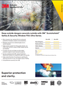3M Safety and Security Ultra PDF - product brochure