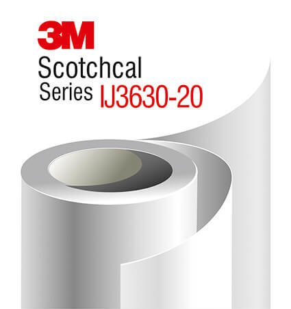 3M Scotchcal Translucent IJ3630-20 - films for illuminated signs