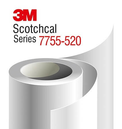 3M Scotchcal Translucent Mirror Film - 7755-520 SE