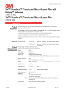 3M Scotchcal Translucent Mirror Silver 7755-520 SE - product bulletin