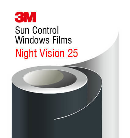 3M Sun Control Window Film Night Vision 25 - слънцезащитно фолио