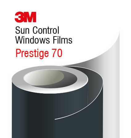 3M Sun Control Window Films Prestige 70