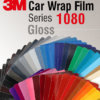 3M Car Wrap Film 1080 – culori cu aspect lucios