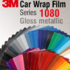 3M Car Wrap Film 1080 – culori cu aspect lucios metalizat