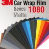3M Car Wrap Film 1080 - Culori cu aspect mat