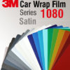 3M Car Wrap Film 1080 – culori satinate
