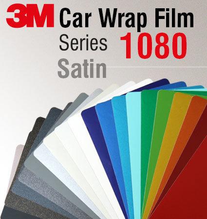 3M Car Wrap Film 1080 - сатенени цветове