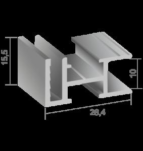 Профил за едностранни несветещи кутии 720421