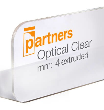 Безцветен PMMA 4мм Plazcryl