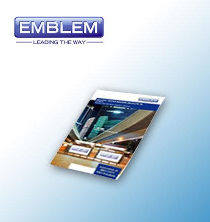 Emblem Banner Backlite FR - плат за печат за светещи табели