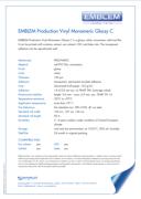 Emblem Monomeric Glossy Product bulletin