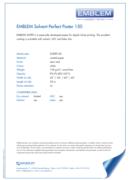 Emblem Solvent Perfect Paper 150 - продуктов бюлетин