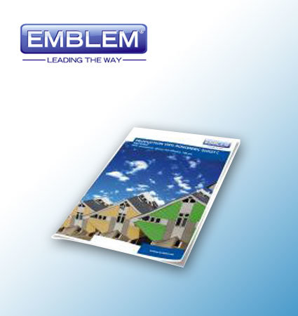 EMBLEM Production Vinyl Monomeric PROVIMGC - мономерно фолио бял гланц