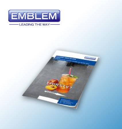 Emblem Walk On Sign - фолио за подова графика