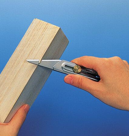 OLFA CK 2 cutting wood - стоманен нож за дърво