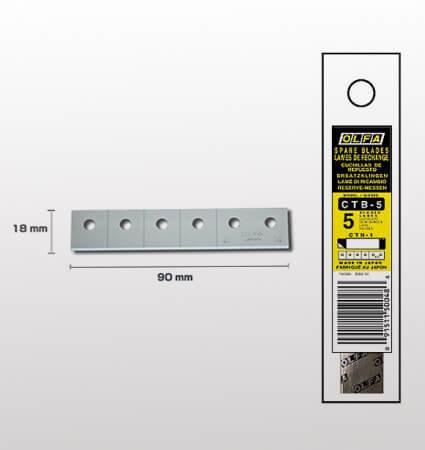 OLFA CTB 5 carton cutter snap-off blades - резци