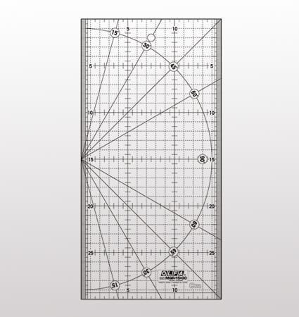 OLFA MQR 15 30 Ruler - линия