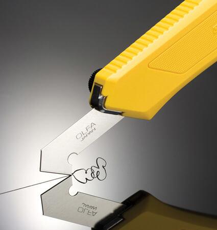 OLFA PC L Plexiglas cutter for different plastics