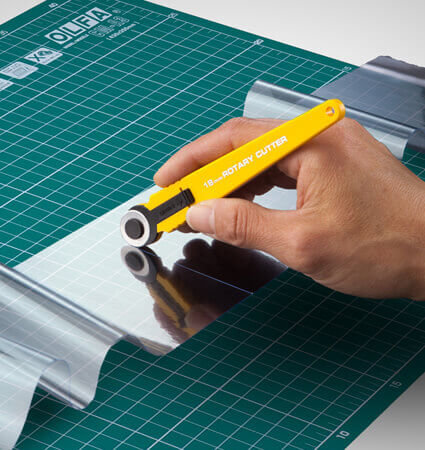 OLFA RTY 4 rotary blade - неръждаем ротационен нож