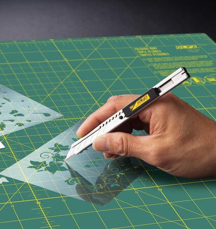 OLFA SAC 1 snap-off blade knife - макетен нож за колажи