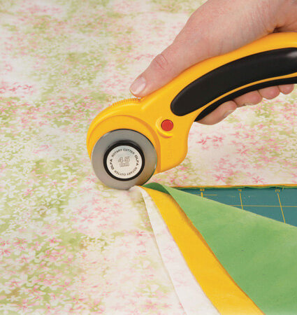 OLFA RTY 2 DX rotary cutter for cutting multiple layers of fabric