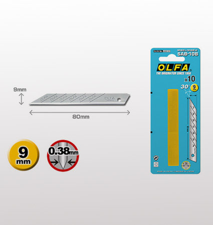 OLFA SAB 10B snap-off blades - резец