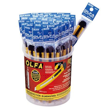 OLFA SPC 1 snap-off blade knife - макетен нож за промишлени цели