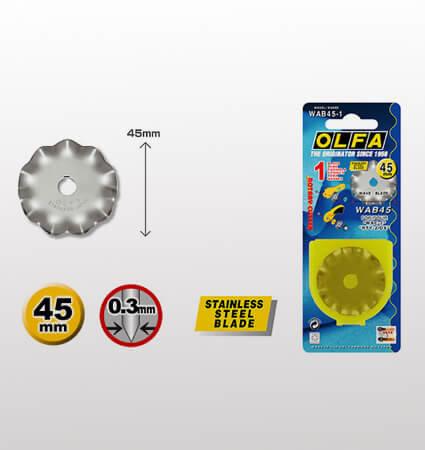 OLFA WAB45 1 rotary blade - ротационен резец