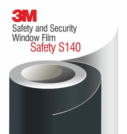 3M Safety and Security Window Films S140 - ударозащитно фолио