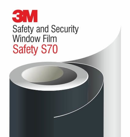 3M Safety and Security Window Films S70 - ударозащитно фолио