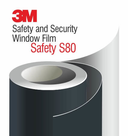3M Safety and Security Window Films S80 - ударозащитно фолио