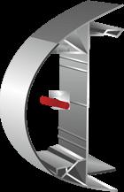720129L – прозрачен плексигласов профил