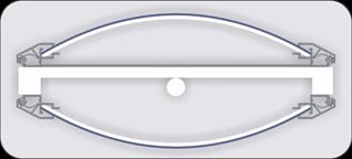 Totem system for plexiglas 720321