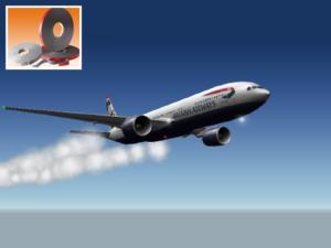 3M VHB за спољне површине на авионима