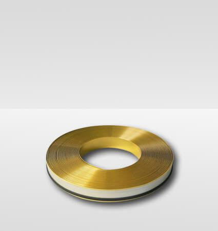 Aluminum band ALURAPID - gold mirror