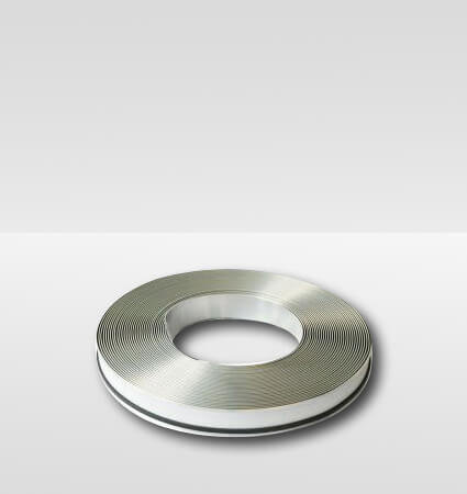 Aluminum band ALURAPID - silver mirror