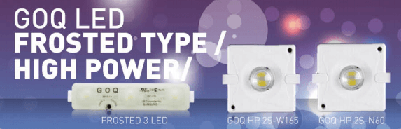 G.O.Q. LED frosted high power