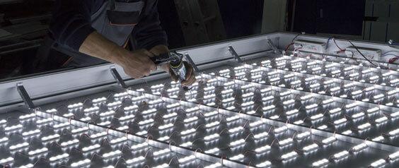 LED модули SloanLED за табели