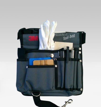 3M Tool Bag for film installatin tools