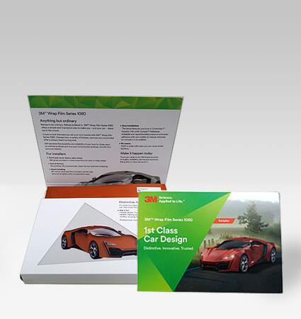 Картел A5 цветовете на серия фолио за тунинг на автомобили 3M 1080