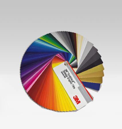 3M Scotchcal 80 - карнетка с цветовете фолио