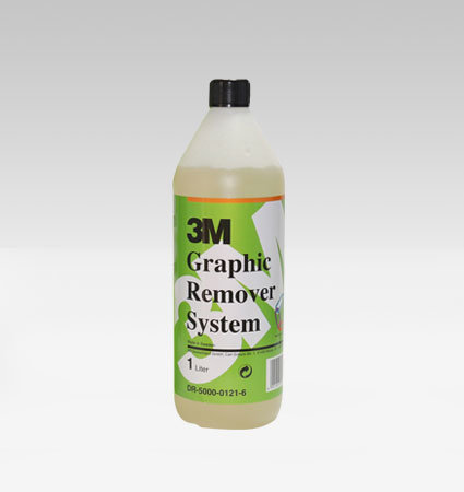 3M Graphic Remover for film and adhesive