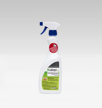 Isopropanol - spray for cleaning surfaces
