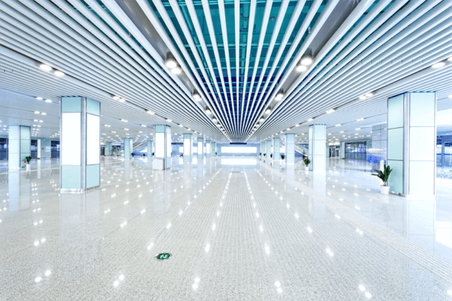 LED Lighting in big halls