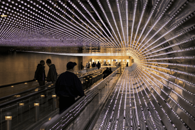 LED lighting - National Gallery of Art, Washington