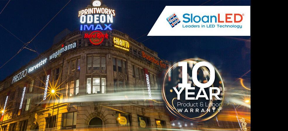 SloanLED модули с удължена гаранция - 10 години