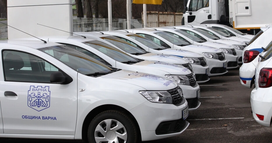 Varna Municipality branded its service cars with 3M film